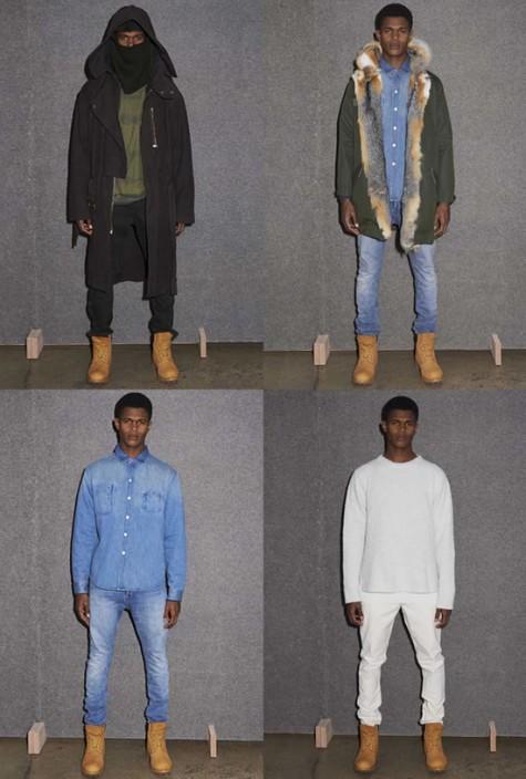 时尚界中的6场最佳握手-Kanye x APC-ELLEMAN 1