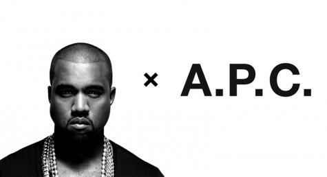 6 cái bắt tay tuyệt vời nhất trong thế giới thời trang - Kanye x APC - elleman 2