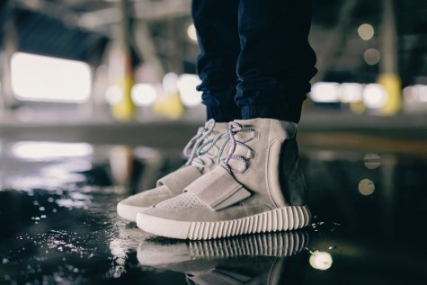 时尚界6大最佳握手-Kanye x adidas Yeezy Boost 750-Elleman