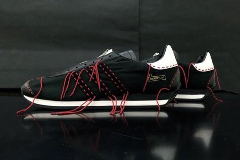giày thể thao không dây - adidas x Yohji Y's Country Zip - elle man