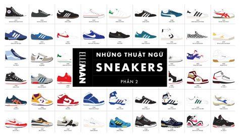 Những thuật ngữ giày thể thao bạn nên biết (P.2)