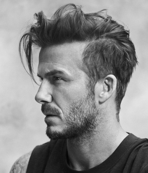 Kiểu tóc nam hot như David Beckam - elleman - 4