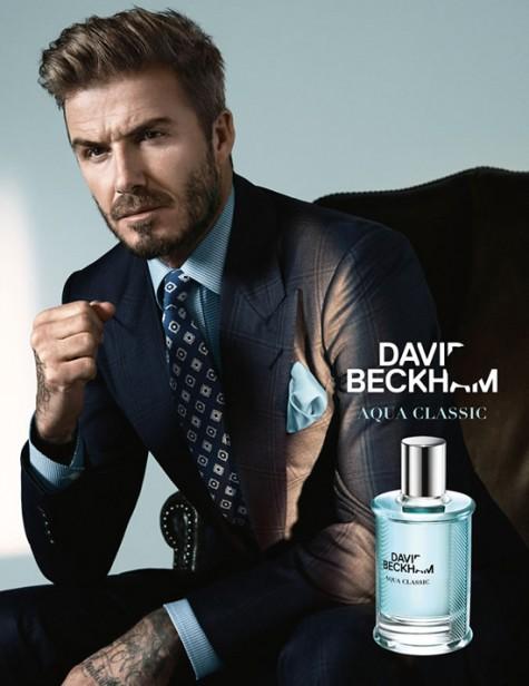 Aqua Classic - mùi hương của David Beckham
