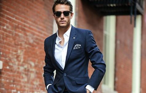 Cách mặc suit nam không cần cà vạt