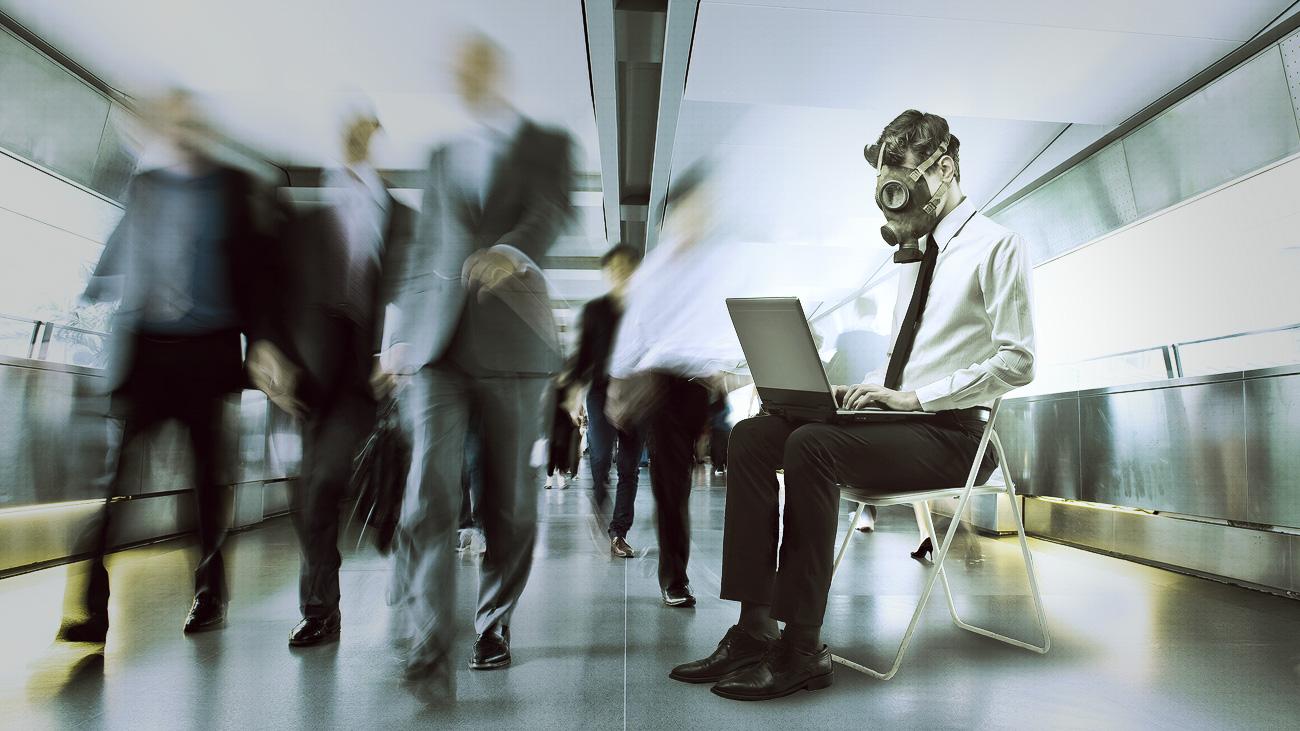 năm biểu hiện của một văn phòng làm việc độc hại - elleman 2