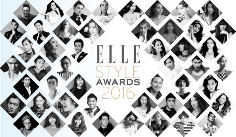 Phong cách sao nam ELLE Style Awards Vietnam 2016