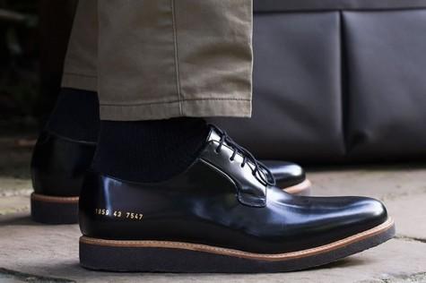 giày dép nam Hè 2016 - Crepe Soles - Common Projects - elleman
