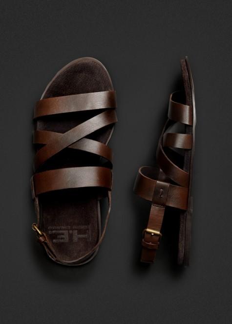 giày dép nam Hè 2016 - sandals - HE Mango - elleman 1