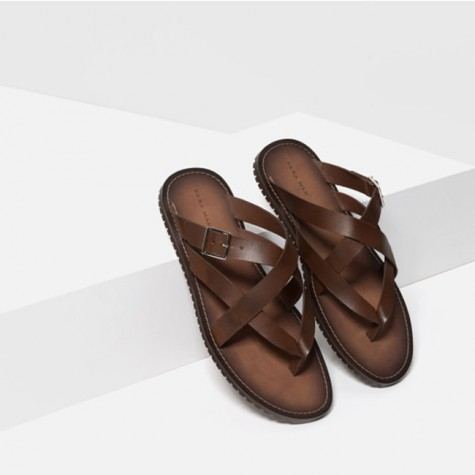 giày dép nam Hè 2016 - sandals - Zara - elleman