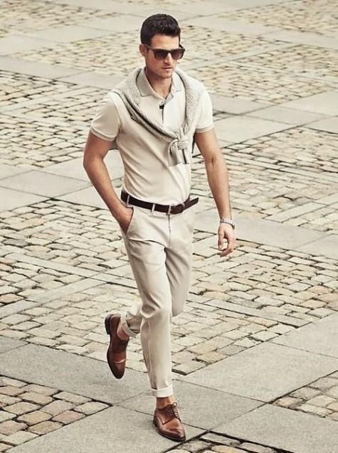 3 cách mặc áo thun Polo đơn giản mà luôn đẹp