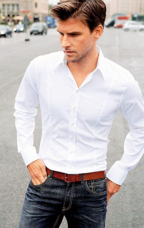 4 loại sơ mi đẹp nhất khi mặc với quần Jeans