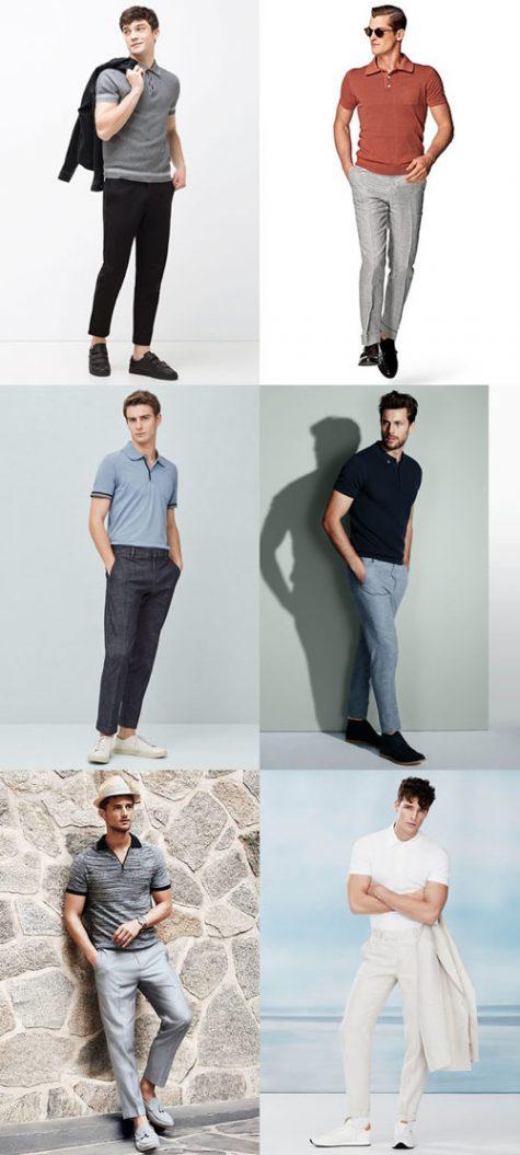 Thời trang Hè 2016 Phối đồ như một quý ông - Polo + tailoring trousers - elle man