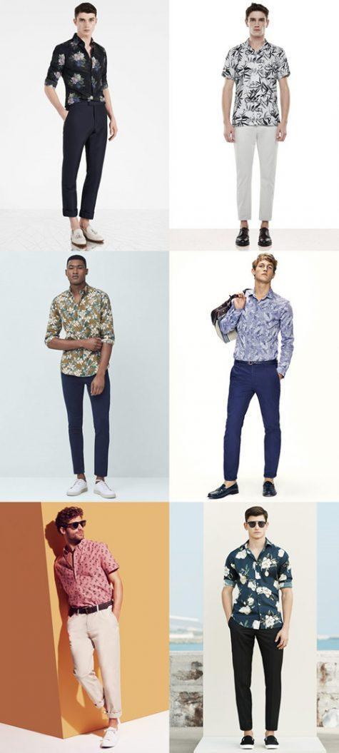 Thời trang Hè 2016 Phối đồ như một quý ông - floral shirt + chinos - elle man