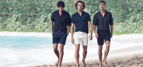 Thời trang Hè 2016 Phối đồ như một quý ông - short-sleeeves shirts + shorts 2 - elle man