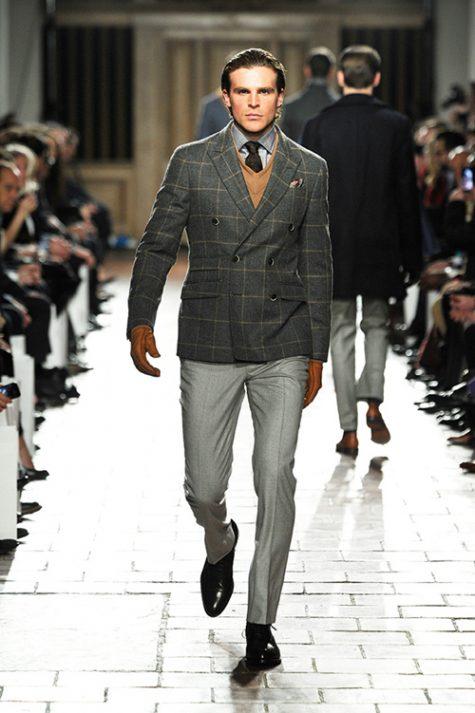 quần tây, tất vớ, giày tây nam elleman 6 - grey trousers and dark shoes