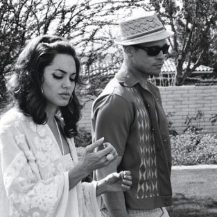 Brad Pitt và những khung ảnh về Angie - elle man 28