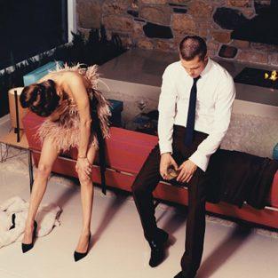 Brad Pitt và những khung ảnh về Angie - elle man 34