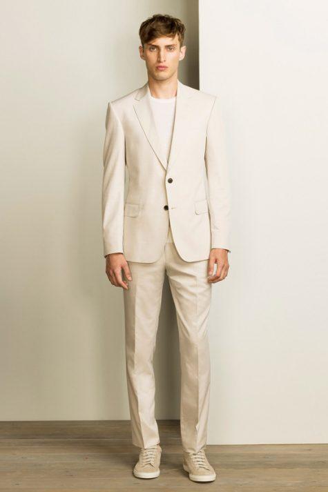 5 phong cách thời trang cực chất phối cùng màu trung tính - beige suits + white shirt 2 - elle man