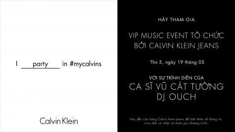 Calvin Klein VIP Music Event