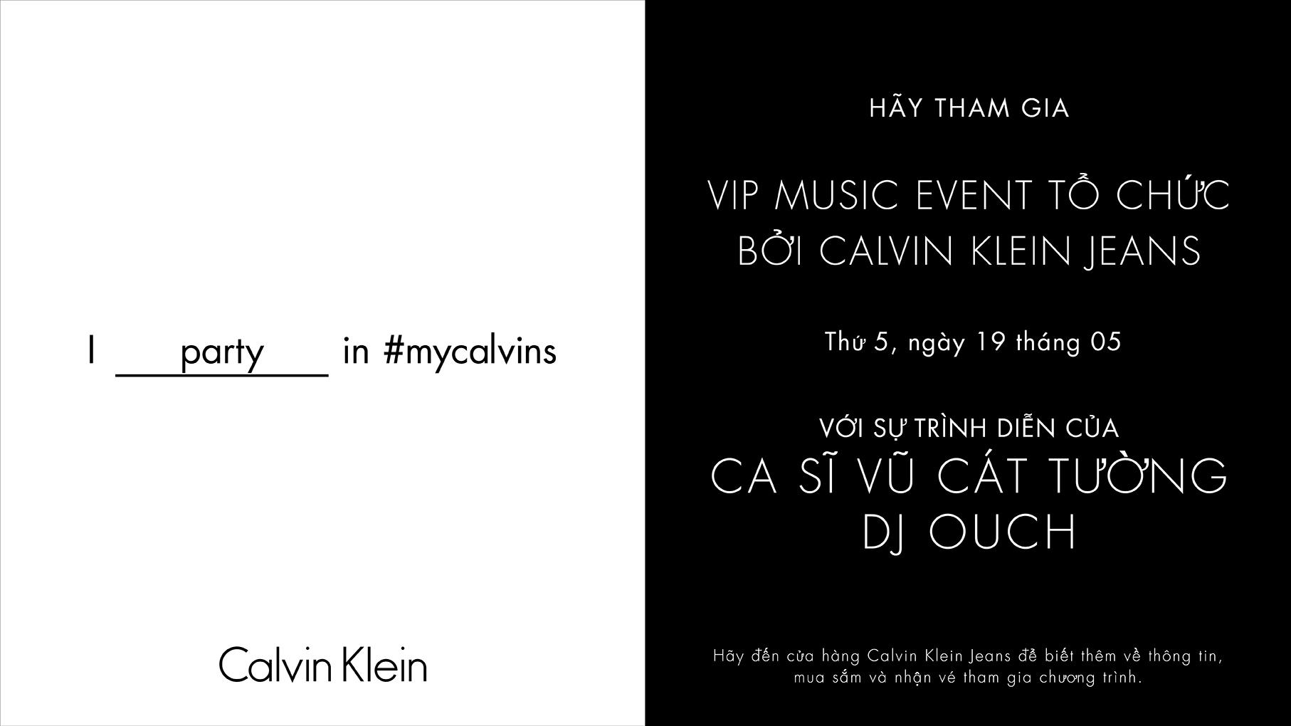 Calvin Klein MUSIC EVENT