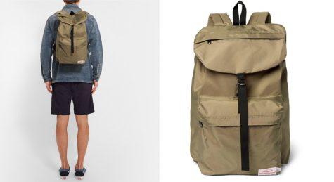 5 lỗi phong cách thời trang cần tránh trong mùa Hè - balo nylon của Battenwear - elle man