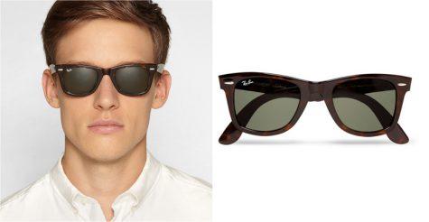 5 lỗi phong cách thời trang cần tránh trong mùa Hè - Rayban Original Wayfarer Acetate Sunglasses (117 pounds) - elle man