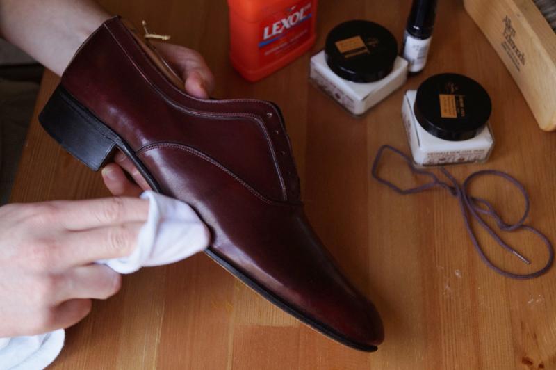 chăm sóc giày da nam - elle man 14