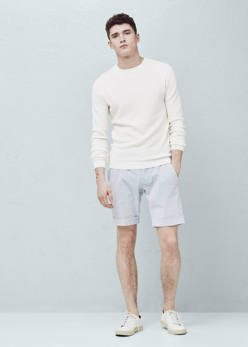 quần short nam - printed short 3 - elle man