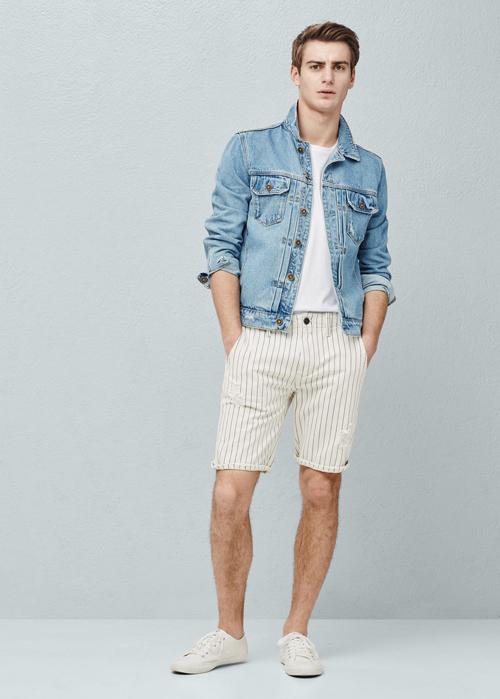 quần short nam - printed short 4 - elle man