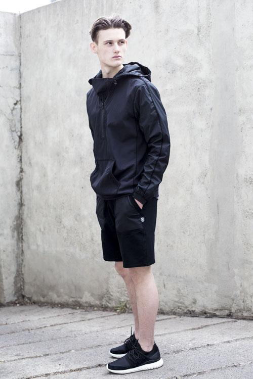 quần short nam - sweat + áo thun 5 - elle man