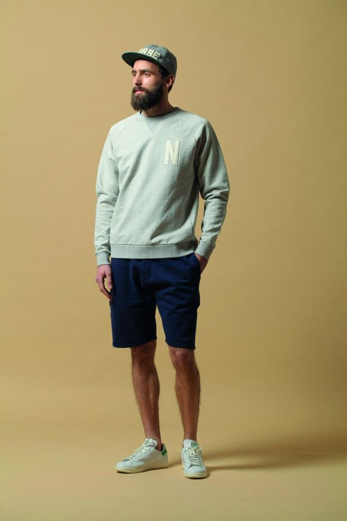 quần short nam - sweat + áo thun 6 - elle man