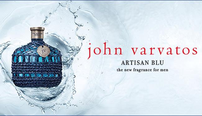 nước hoa nam Hè 2016 - John Varvatos Artisan Blu - elle man 1