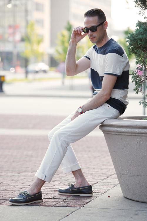 quan jeans nam - jeans trang - elle man 4