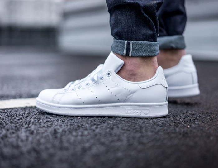 5 kieu giay the thao - all-white - adidas Stan Smith 1 - elle man