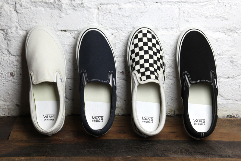 5 kieu giay the thao - slip-on - Vans - elle man