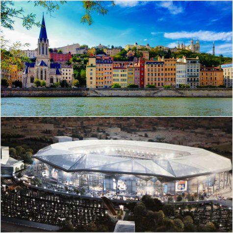 Euro 2016, Grande Stade de Lyon thiết kế bởi hãng Populous