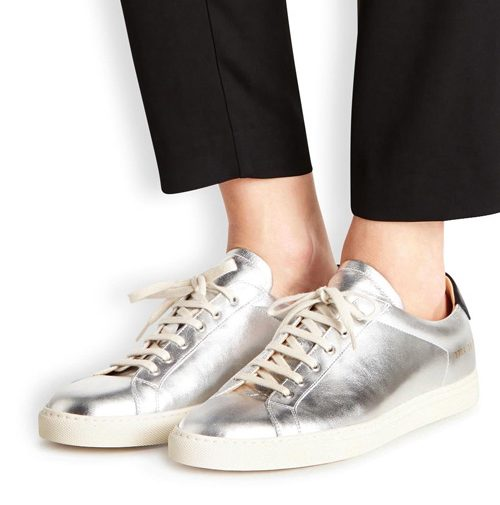 giay the thao dau He 2016 - Common Projects Achilles Silver 3 - elle man