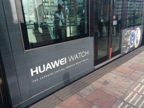Bien hieu quang cao Huawei watch