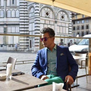Lý Minh Thuận tại sự kiện Drive de Cartier ở Florence