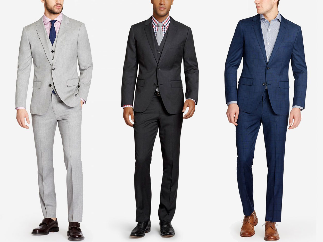 Chocalate Brown And Silver Grey Suit And Boot Shoes Images