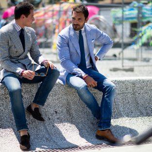 Quần jeans & áo blazer nam: Mặc sao cho đúng?