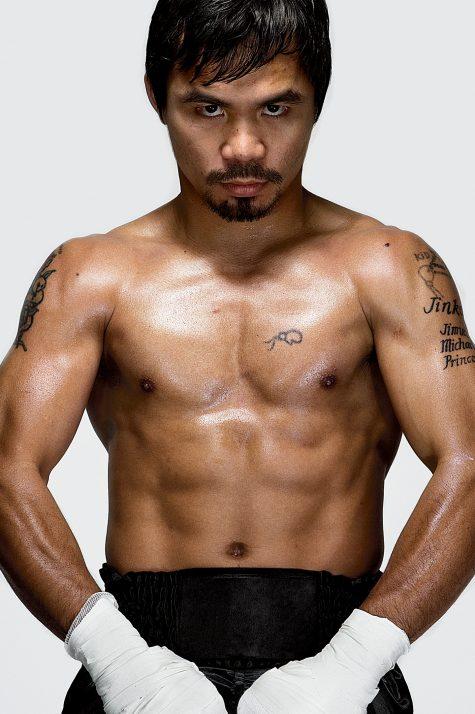7 bí quyết đấu quyền Anh của Manny Pacquiao, sở hữu cơ bụng rắn chắc.