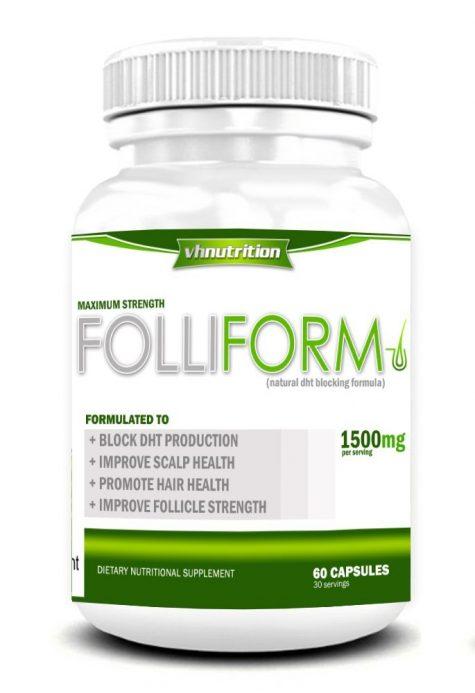 Folliform tự nhận có khả năng chống DHT nhưng khác cơ chế so với Rogaine hay Propecia