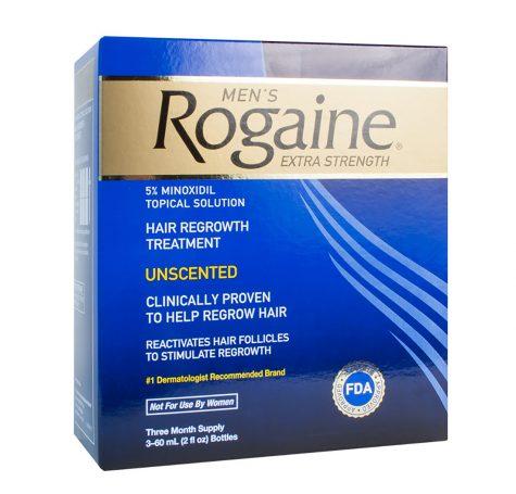 Rogaine 5% sẽ mang lại hiệu quả cao hơn khi kết hợp với thuốc bổ xung biotin, omega 3 & 6.