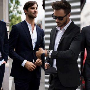 Bạn đã biết cách mặc suit nam màu đen chưa?