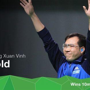 Hoàng Xuân Vinh - Người hùng Olympic đầu tiên của Việt Nam