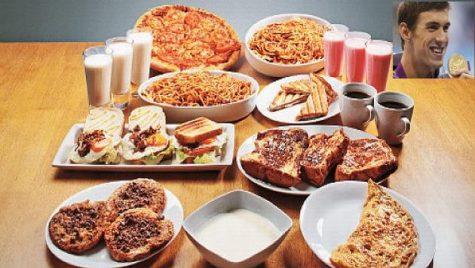 Chế độ dinh dưỡng 12,000 kcal của Michael Phelps