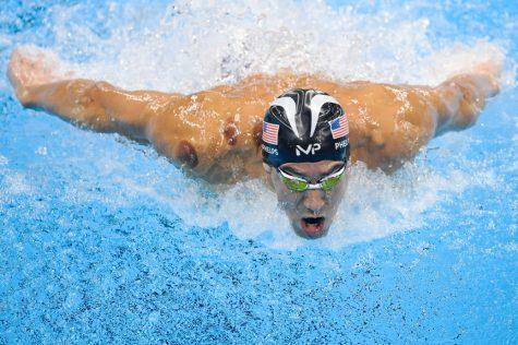 Michael Phelps tại Olympic Rio 2016