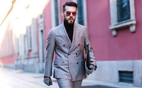 Suit nam màu xám và 8 quy tắc cơ bản