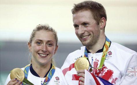 Jason và Laura cùng những tấm huy chương vàng Olympic